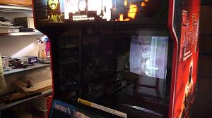 the house of the dead arcade machine cabinet youtube