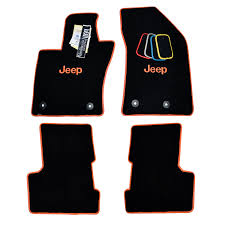 orange jeep 2016 renegade floor mats