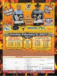 Wildfire Eternal Buy by Sunday Feb 05 2017 11 Businessman U0027s Super Qualifier Salado Tx
