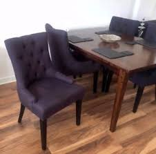 Next Dining Chairs Next Charcoal Grey Winchester Dining Chairs X 4 Nearly New Ebay