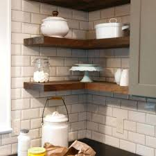 shelves in kitchen ideas floating shelves in kitchen ideas springup co