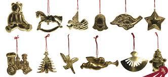 brass ornament 12 set