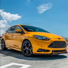 ford focus st yellow yellow ford focus st 3 focus st 3 ford focus ford