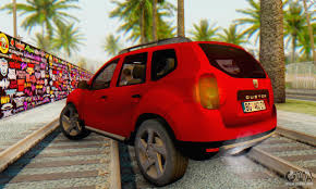 duster renault 2014 dacia duster for gta san andreas