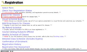 online confirmation class how to register online using ur self service graduate studies