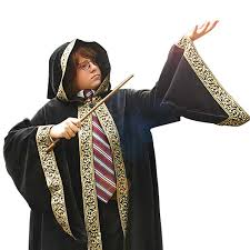 Halloween Costumes Kids Boys Amazon Wizards Cloak Children Magician Halloween
