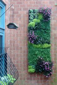 Outdoor Wall Hanging Planters by Top 25 Best Hanging Gardens Ideas On Pinterest Plants Infinity