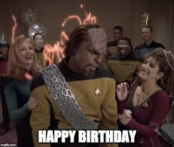 Happy Birthday Star Trek Meme - surprise imgflip