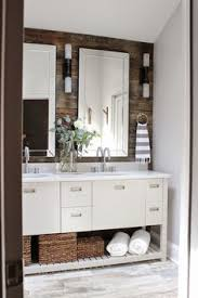 bathroom sink cabinet ideas gray bathroom vanity reclaimed wood accent wall country