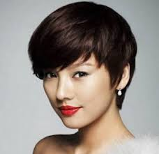 asian short hairstyles for women short punk hairstyles for round