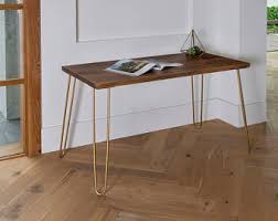 Modern Walnut Desk Modern Walnut Desk Etsy