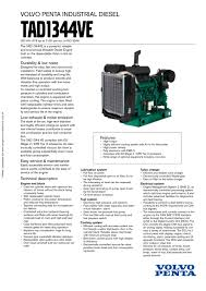 tad1344ve volvo penta pdf catalogue technical documentation