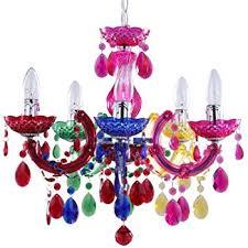 Multi Coloured Chandeliers Chandelier Pendant Light Multi Coloured Large Co Uk