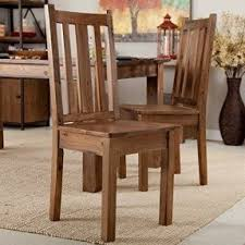 distressed wood table and chairs rustic wood dining chairs walker edison reclaimed solid set of 2 23