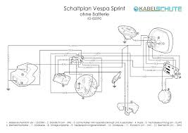 wiring harness vespa sprint