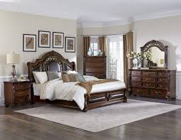 Cherry Wood Sleigh Bedroom Set Sleigh Bed Wooden Henry Bedroom Collection Sets King Size Cheap