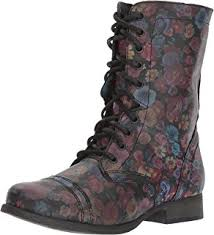combat boots black friday amazon com steve madden women u0027s troopa lace up boot mid calf