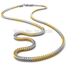 new necklace chain images Top quality new design fashionstainless steel men 39 s necklace chain jpg