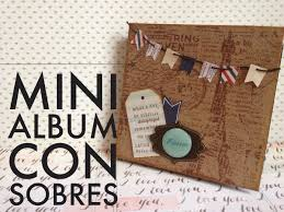 tutorial scrapbook card tutorial mini álbum con sobres envelope minialbum scrapbook cajas