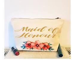 Bridal Party Makeup Bags Bridal Party Gifts Etsy
