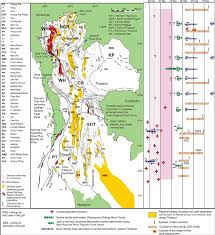 Map Of Central Massachusetts by 10 Map Of Thailand Showing The Main Cenozoic Tectonic Figure