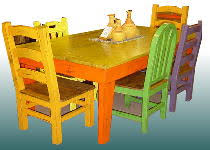 Mexican Dining Room Furniture Old El Paso Southwestern Style Dining Tables