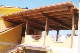 preventivo tettoia in legno beautiful copertura terrazzo in legno gallery design trends 2017
