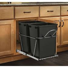 outdoor trash bin storage cabinet bins kitchen garbage can holder