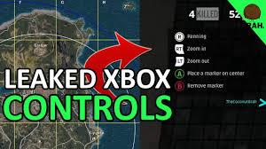 player unknown battlegrounds xbox one x release leaked xbox control scheme playerunknown s battlegrounds youtube
