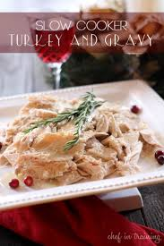 cooker turkey and gravy chef in
