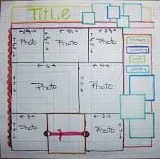 the scrapoholic scrapbook layout sketch thescrapoholic 20