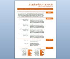 Sample Word Resume by Modern Resume Template Word
