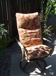 Cushion Covers For Patio Furniture by Patio Chair Cushion Covers U2013 Createcraftchère