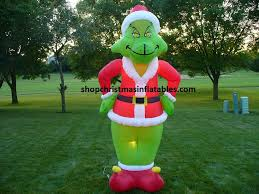 disney grinch airblown inflatables