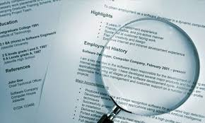 Resume Handling Handling Cv Problem Areas
