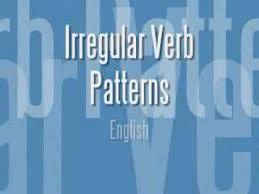 verb pattern of like irregular verb patterns in english youtube