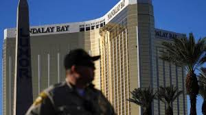 mandalay bay security guard was shot six minutes before las vegas