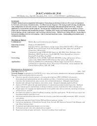Server Sample Resume by Download Exchange Administration Sample Resume
