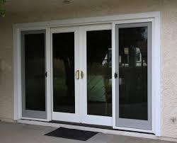 Narrow Exterior French Doors by Home Design 3 Panel Sliding Glass Patio Doors Sunroom Gym 3