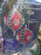 sequin ornament beading kits ebay