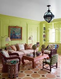 Livingroom Color How To Do The Best Usage Of The Green Color On A Living Room Design