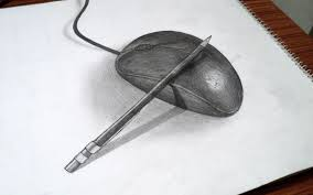 gallery easy 3d sketches to draw drawing art gallery