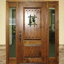 Antique Exterior Door Wooden Door Designs Antique Walnut Solid Wood Exterior Door