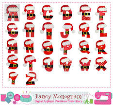 images of christmas letters santa claus letters applique christmas monograms applique christmas