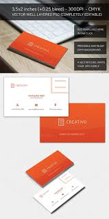 red essential business card creativemarket 162484 nitrogfx