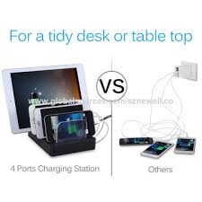 phone charger station china restaurant cell phone charging station with 4 ports usb on