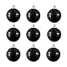 White Christmas Ornaments Walmart by Holiday Time Christmas Ornaments 6 Piece Blue White Glittered