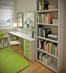 cool kids bookshelves others small kids study room area with green carpet and large