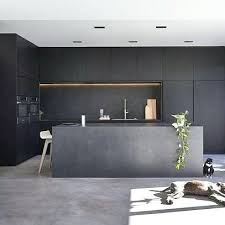interior design in kitchen ideas all black kitchen ideas get started on liberating your interior