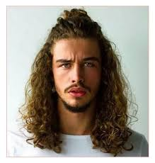 haircut for fine curly hair new haircut along with long wavy hair for men u2013 all in men haicuts